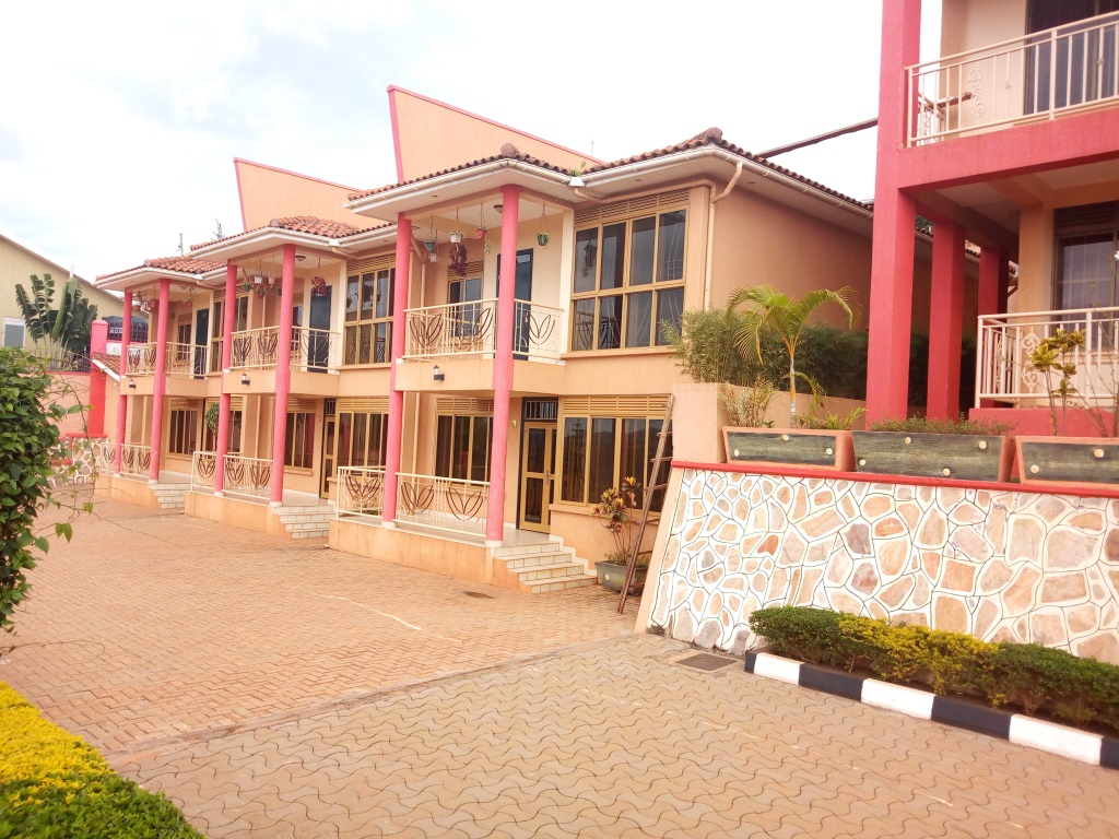 For Sale/ Rent at Kitende Entebbe Road, a 7 Apartment Unit complex. Price : 950,000 USD Negotiable for sale.